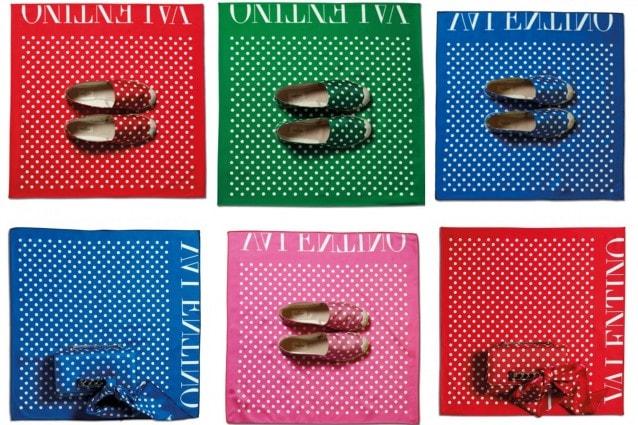 Valentino lancia la collezione Pop-Pois per l'estate 2013