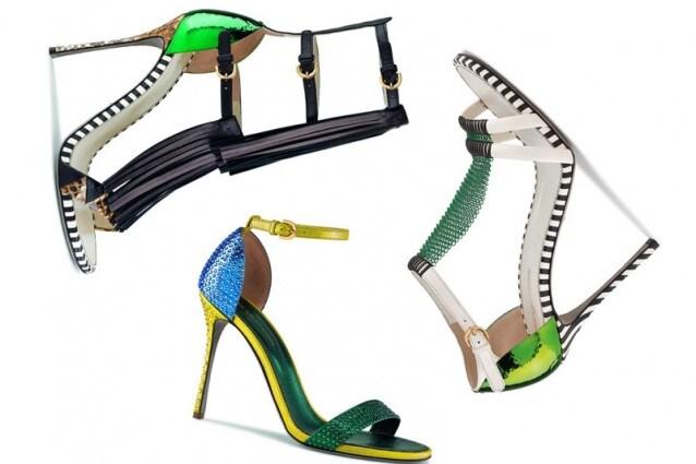 I sandali alti più originali per la Primavera/Estate 2013