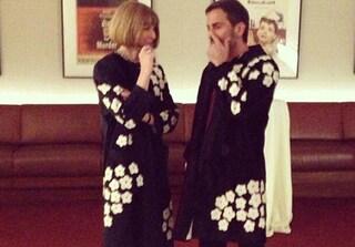 Marc Jacobs e Anna Wintour con lo stesso vestito