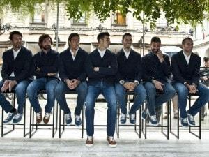 Vestito Elegante Juventus.Trussardi Veste I Calciatori Della Juventus