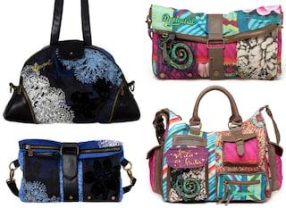 Fantasie allegre e colori intensi su borse e accessori Desigual