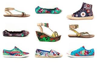 Le scarpe per l'estate 2013 di Desigual