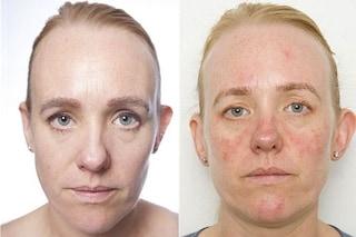 Dormire con il make-up: la pelle invecchia di 10 anni in un mese