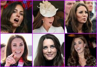 Kate Middleton, la regina delle smorfie (FOTO)