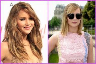 Jennifer Lawrence cambia look. Meglio prima o dopo?