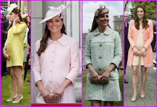 Kate Middleton in gravidanza con stile, ecco i 10 migliori look