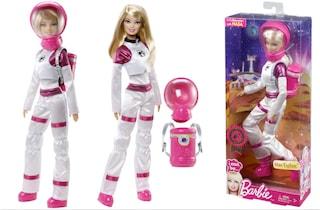 Barbie diventa astronauta per il compleanno di Curiosity