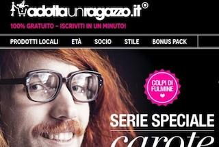 """Nasce Adottaunragazzo.it, il primo sito dove """"acquistare"""" un toyboy"""