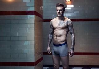 David Beckham in mutande per H&M (FOTO)
