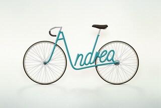 Le bici personalizzate con il proprio nome (FOTO)