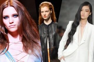 I trend capelli dalle passerelle milanesi