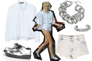 Copia il sexy look di Miley Cyrus spendendo meno di 100 euro (FOTO)