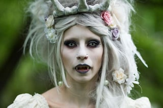 Gothic make up, il look più trendy per halloween