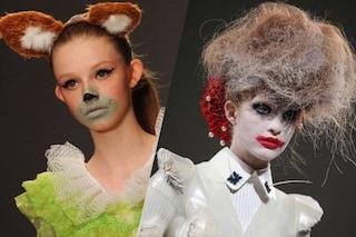 I peggiori beauty look delle Fashion Week