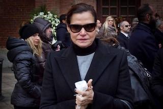 Ai funerali di Aldo Coppola anche la Ventura in lacrime (FOTO)