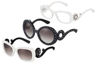 Prada Ornate, gli occhiali gioiello per l'Autunno/Inverno 13-14