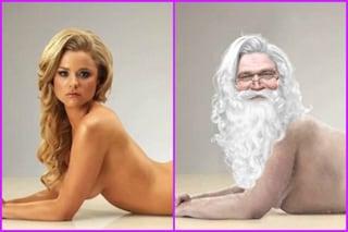 Da modella sexy a Babbo Natale grasso in soli 36 secondi (VIDEO)
