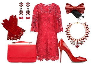 A Natale vestiti di rosso! Abiti e accessori per le feste (FOTO)