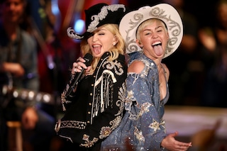 Miley Cyrus e Madonna in versione cowgirl per MTV Unplagged