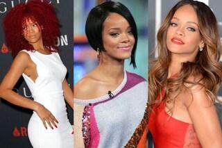 Tutti i capelli di Rihanna: ecco le mille trasformazioni della star (FOTO)