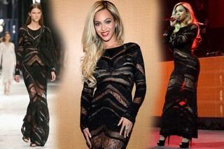 Beyoncé: sexy trasparenze alla vigilia del Super Bowl (FOTO)