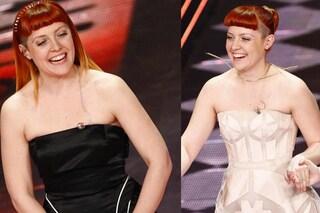 Noemi è la più commentata di Sanremo 2014 con il look firmato Gattinoni