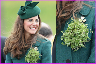 "Kate Middleton e il look ""trifoglio"" per la parata di San Patrizio (VIDEO)"