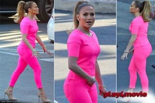 """Jennifer Lopez in versione """"evidenziatore"""" (FOTO)"""