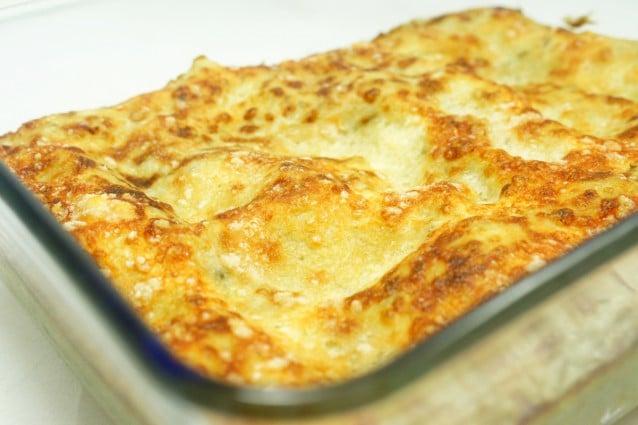 Lasagne Ai Carciofi Al Forno