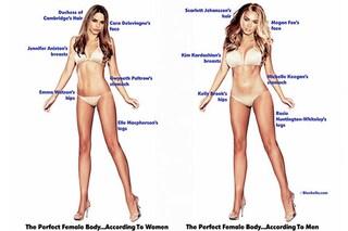 Come dovrebbe essere il corpo femminile ideale? Ecco la visione degli uomini e quella delle donne