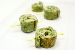 Rondelle di frittata agli asparagi: un finger food che profuma di primavera
