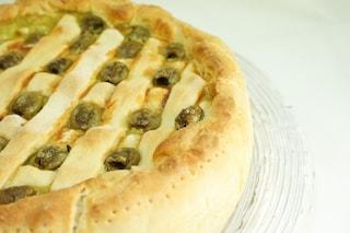 Torta salata spinaci e olive