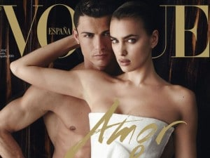 Cristiano Ronaldo nudo
