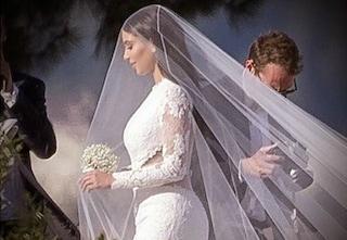 Il matrimonio di Kim Kardashian, l'abito da sposa e tutto quello che c'è da sapere sulle nozze (FOTO)
