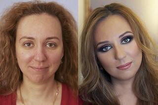 Trasformarsi con il make up: le foto del prima e dopo