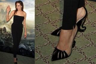 """I tacchi malefici di Angelina Jolie: spopolano le scarpe di """"Maleficent"""" (FOTO)"""