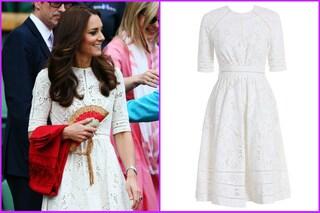 Kate Middleton: occhiali da diva e abito riciclato a Wimbledon (VIDEO)
