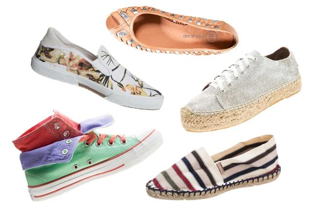 Scarpe per l'estate 2014: 8 modelli comodi e freschi per