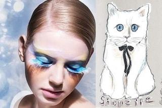 Nuova collezione make up per Shu Uemura: la testimonial è una gatta