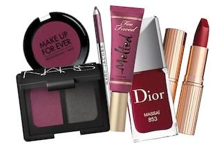 Make up per l'autunno: il colore del 2014 è il sangria (FOTO)