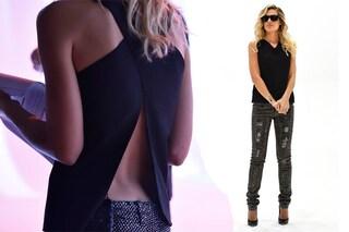 """Ilary Blasi: schiena in mostra e jeans glamour per """"Le Iene"""""""