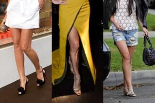 Le gambe delle celebrities: tutti i difetti (FOTO)