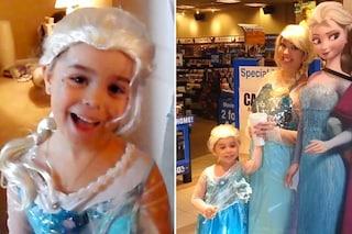 """Non hanno i soldi per Disneyland, si travestono da principesse di """"Frozen"""" (VIDEO)"""