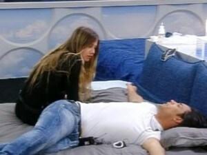 Giordana e Biagio a letto