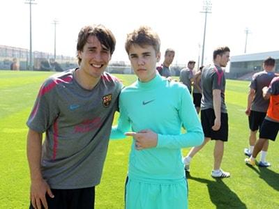 ¿Cuánto mide Justin Bieber? - Altura: 1,73 - Real height Justin-Bieber-con-Lionel-Messi