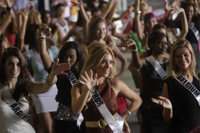 Le prove delle reginette in Brasile