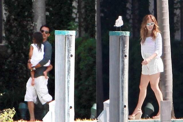 Jennifer Lopez raggiunge Marc Anthony per il suo compleanno  le foto 76b77477c57