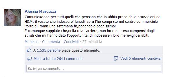 alessia marcuzzi fb