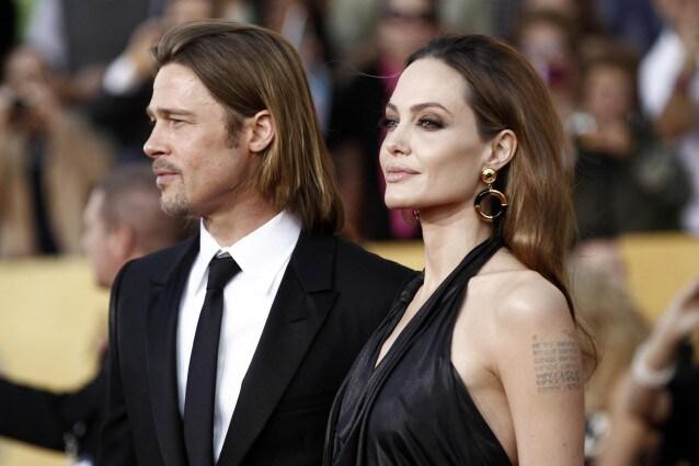 In occasione dei Sag Awards 2012, una spaventosamente ossuta Angelina Jolie ha calcato il red carpet insieme al compagno Brad Pitt