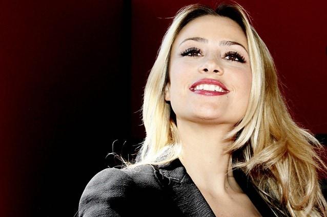 Martina Stella incinta di Gabriele Gregorini